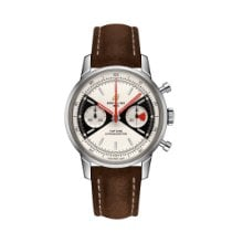 Breitling Top Time Steel 41mm Silver No numerals United States of America, New York, New York