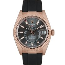 Rolex Sky-Dweller Rose gold 42mm Grey United Kingdom, London