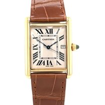 Cartier Tank Louis Cartier Yellow gold 25mm Silver United States of America, New York, New York