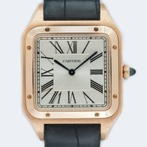 Cartier Santos Dumont Rose gold 46.6mm Silver