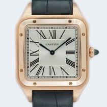 Cartier Santos Dumont Pозовое золото 46.6mm Cеребро