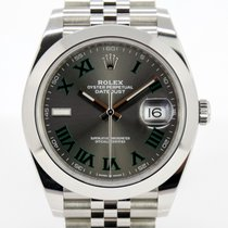 Rolex Datejust neu 2021 Automatik Uhr mit Original-Box und Original-Papieren 126300