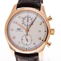 IWC Portugieser Chronograph Roségold 42mm Silber Arabisch Deutschland, Hannover