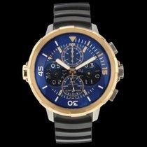 IWC Aquatimer Perpetual Calendar Digital Date-Month Roségold 49mm Blau Schweiz, Nyon (Genéve)