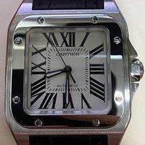 Cartier Santos 100 2878 Very good Steel 33mm Automatic Singapore