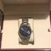 Longines Master Collection pre-owned 40mm Blue Date Steel
