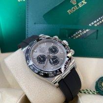 Rolex White gold Automatic Grey No numerals 40mm new Daytona