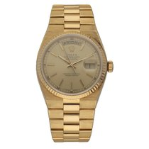 Rolex Day-Date Oysterquartz Yellow gold 36mm Champagne United States of America, Florida, Sarasota