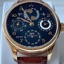 IWC Portuguese Perpetual Calendar Rose gold Black Arabic numerals United States of America, Texas, Sugar Land