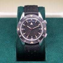 Jaeger-LeCoultre Memovox Tribute to Deep Sea Steel 40mm Black Arabic numerals