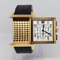 Jaeger-LeCoultre Reverso Squadra Chronograph GMT Yellow gold 35mm White Arabic numerals United States of America, Florida, Palm Beach
