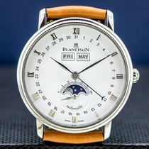 Blancpain Villeret Quantième Complet Steel 38mm Roman numerals United States of America, Massachusetts, Boston