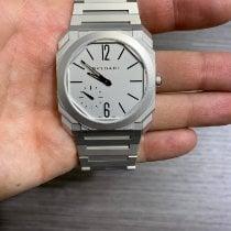 Bulgari new Automatic Small seconds 40mm Steel Sapphire crystal