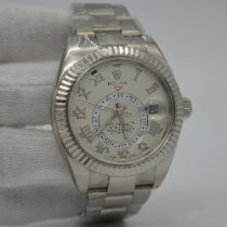 Rolex 326939 White gold Sky-Dweller 42mm pre-owned United States of America, New York, New York