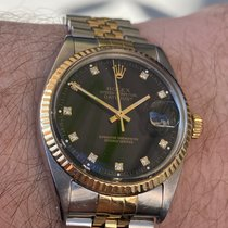 Rolex Datejust 115234 Very good Gold/Steel 34mm Automatic