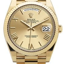 Rolex Day-Date 40 Yellow gold 40mm Gold Roman numerals United States of America, California, Los Angeles