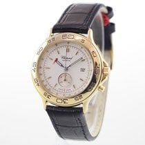 Chopard Yellow gold Quartz No numerals 31mm pre-owned Mille Miglia
