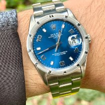 Rolex Oyster Perpetual Date Steel 34mm Blue Arabic numerals United States of America, Florida, Pembroke Pines