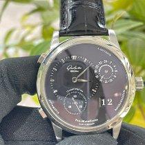 Glashütte Original PanoMaticVenue Platinum Black Roman numerals