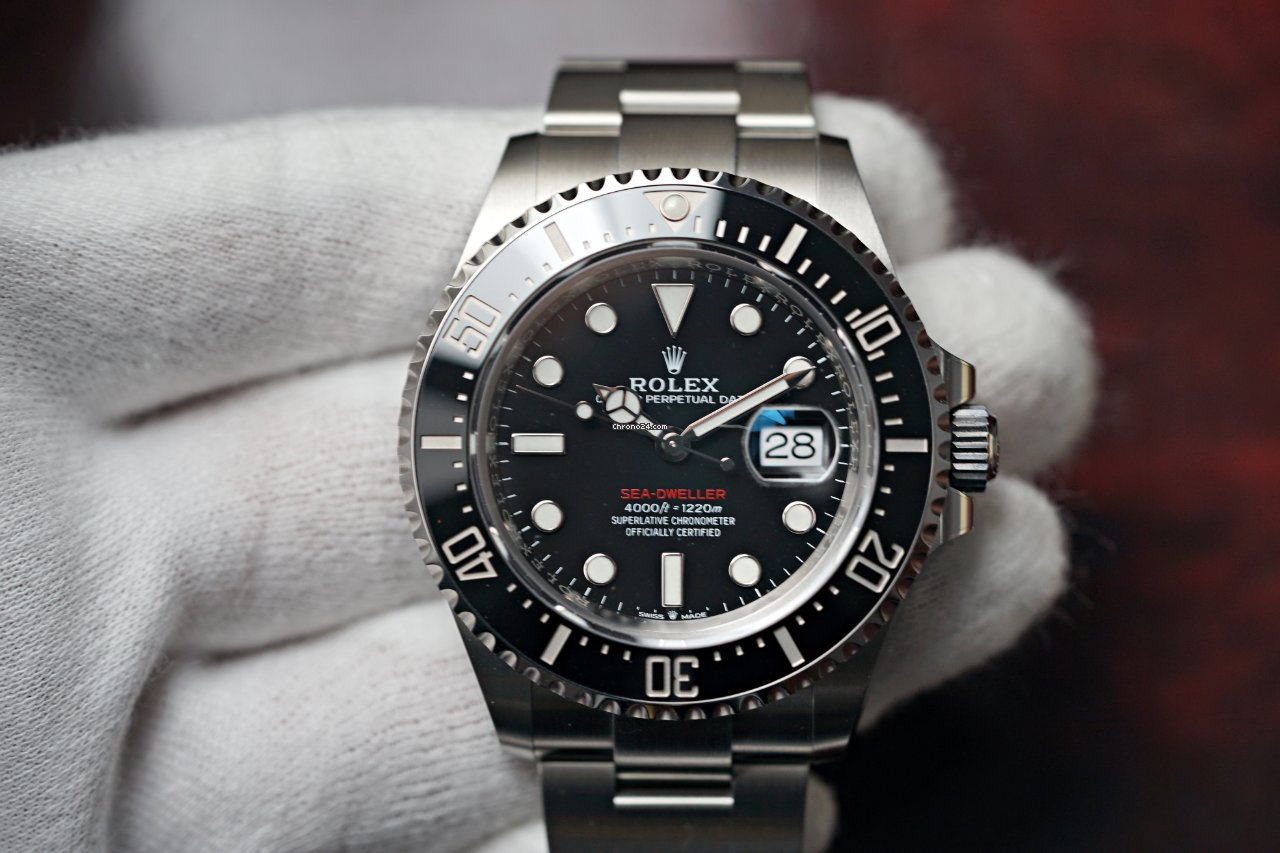 Rolex Sea-Dweller SD43 126600 NEW 50th Anniversary for $15,745 for sale  from a Trusted Seller on Chrono24