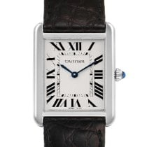 Cartier Tank Solo Steel 27mm Silver Roman numerals United States of America, Georgia, Atlanta