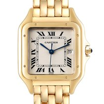 Cartier Panthère Yellow gold 27mm Silver Roman numerals United States of America, Georgia, Atlanta