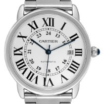 Cartier Ronde Solo de Cartier Steel 42mm Silver Roman numerals United States of America, Georgia, Atlanta