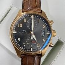 IWC Pilot Spitfire Chronograph Złoto czerwone 43mm Szary Arabskie