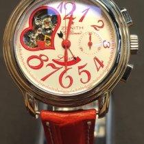 Zenith El Primero Chronomaster Lady Steel Red Arabic numerals