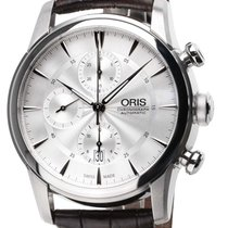 Oris Artelier Chronograph new Automatic Chronograph Watch with original box and original papers 0177476864051-0752370FC