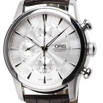 Oris 0177476864051-0752370FC Steel Artelier Chronograph 44mm new