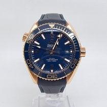 Omega Seamaster Planet Ocean Roséguld 43.5mm Blå
