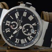 Ulysse Nardin Marine Chronometer Manufacture 1183-122-3/42 Velmi dobré Ocel 45mm Automatika Česko, Rosice