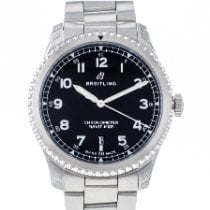 Breitling Steel 41mm Automatic A17314101B1A1 new