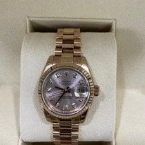 Rolex Lady-Datejust 179175F Новые Pозовое золото Автоподзавод