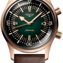 Longines Bronze Automatic Green 42mm new Legend Diver