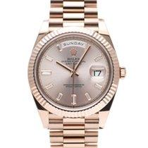 Rolex (ロレックス) デイデイト 40 新品 2021 自動巻き 正規のボックスと正規の書類付属の時計 228235A