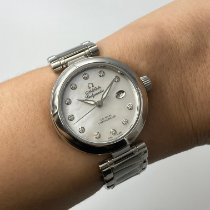 Omega De Ville Ladymatic Steel 34mm Mother of pearl Malaysia