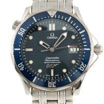 Omega Seamaster Diver 300 M Ocel 41.5mm Modrá
