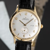 Zenith Yellow gold 36mm Manual winding 30.1125.113 pre-owned