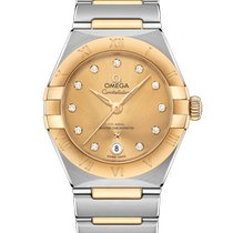 Omega Constellation Gold/Steel 29mm Gold