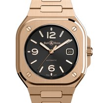 Bell & Ross Rose gold Automatic Black 40mm new BR 05