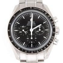Omega Speedmaster Professional Moonwatch použité 42mm Černá Chronograf Datum Ocel