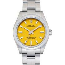 롤렉스 오이스터 퍼페츄얼 31 스틸 노란색