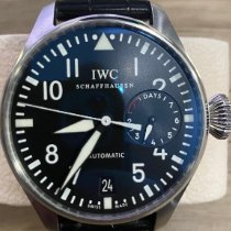 IWC Big Pilot pre-owned 46mm Black Date Leather