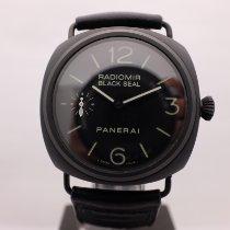 Panerai Radiomir Black Seal Керамика 45mm Черный