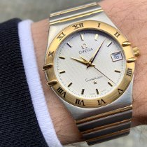 Omega 1212.30.00 Gold/Steel 2001 Constellation 33.5mm pre-owned