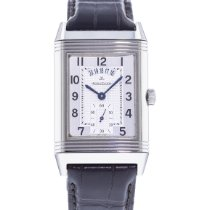 Jaeger-LeCoultre Grande Reverso Duo pre-owned 30mm Silver Leather