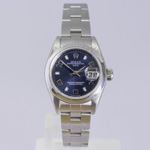 Rolex Oyster Perpetual Lady Date Steel 26mm Blue United Kingdom, Andover