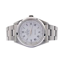Rolex Air King Precision Acero 34mm Blanco
